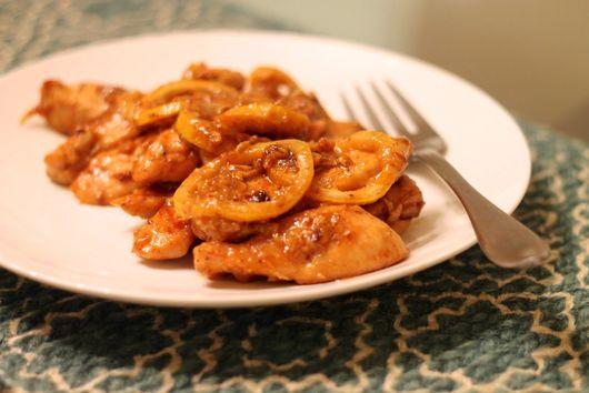 Garlic and Lemon Chicken Strips