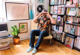 An N.Y.C. Apartment That's Truly a Book Lover's Paradise