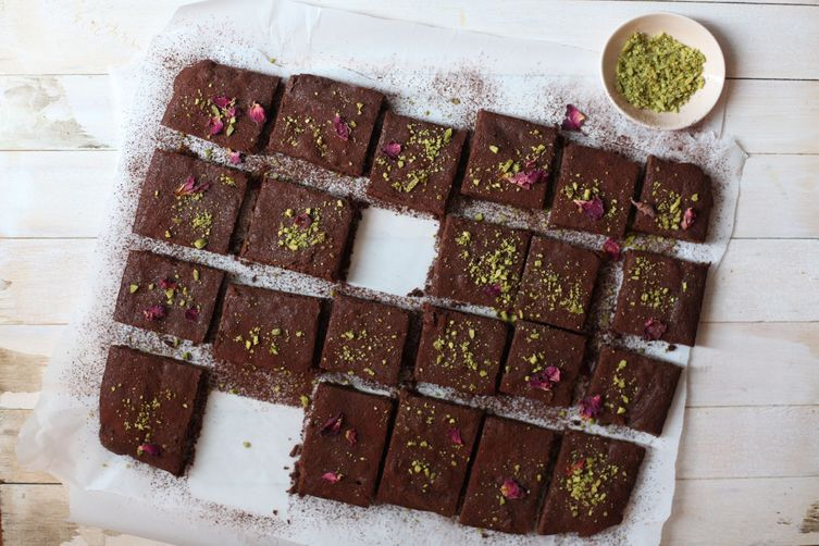 Cardamom Brownies