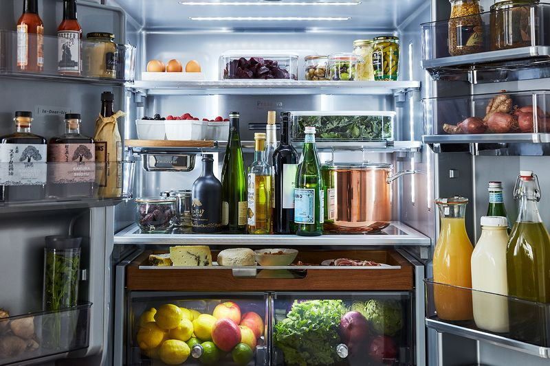 Won't you come over? Our Test Kitchen's KitchenAid fridge is stocked and ready.