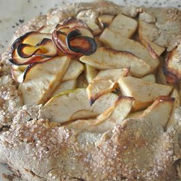 Rustic Apple Galette with Gluten-Free Crust