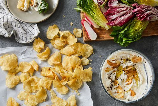 Crispy Garlic Dip