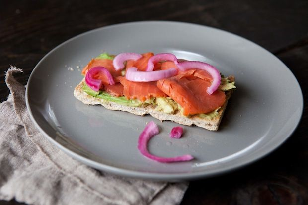 Lox crispbread from Food52
