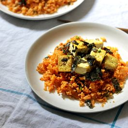 Vegan Korean Recipes: Cauliflower Kimchi Fried Rice