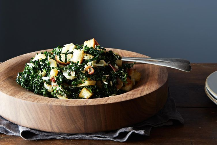 Caesar-Style Kale Salad on Food52
