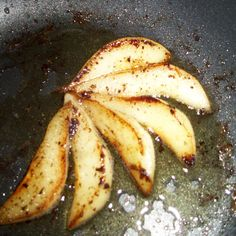 Pears with brown butter