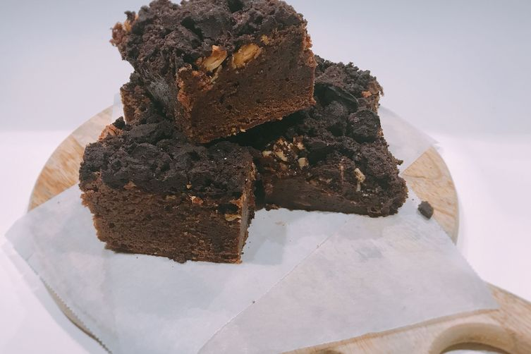 Bergs-Family Ultimate chocolate crumble brownie 💙