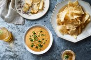 Roasted Butternut Squash Queso