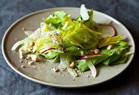 Winter Squash Tagine + Shaved Celery and Fennel Salad