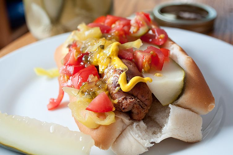 Charcutepalooza July: The Chicago Hot Dog