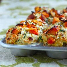 Cheesy Savory Butternut Squash Muffins