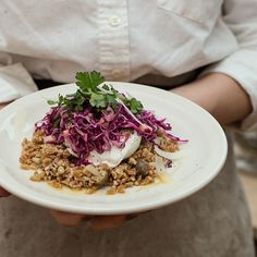 Winter Farro Salad