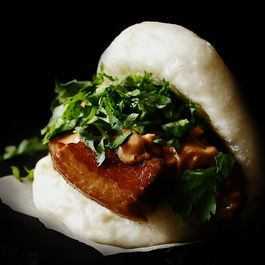 Braised Pork Belly on a Steamed Milk Bun