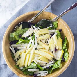 Mango Jicama Salad with Ginger Lime Dressing