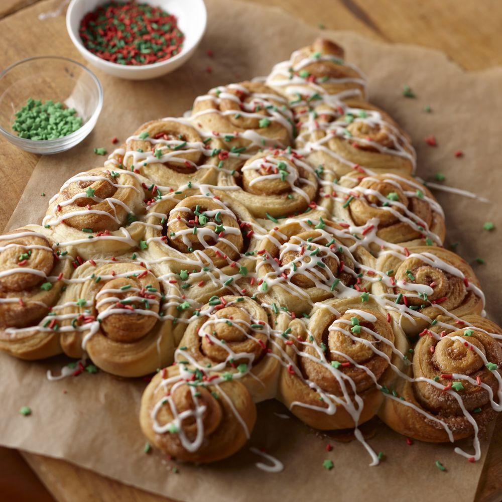 Water And Sugar For Christmas Tree: Cinnamon Roll Christmas Trees Recipe On Food52
