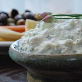 Feta Yogurt Cheese Dip
