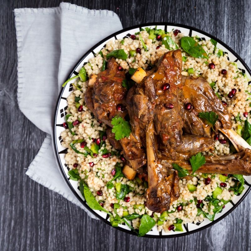 26cc3b49 d238 4298 9b9a c69dbcf67fb2  14 Braised Lamb Shanks Pearl Couscous Salad  What Muslims Around the World Are Making for Eid