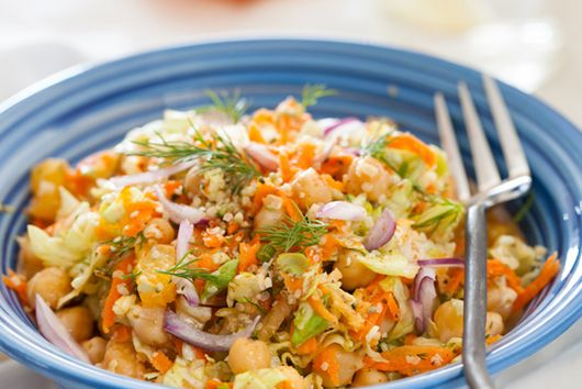 Vitamin Garbanzo Beans Salad