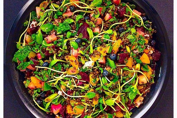 UpBeet Lentil Salad
