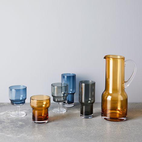 Handmade Tinted Utility Glasses (Set of 2)