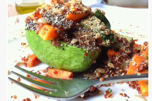 Hot Mess Quinoa Salad