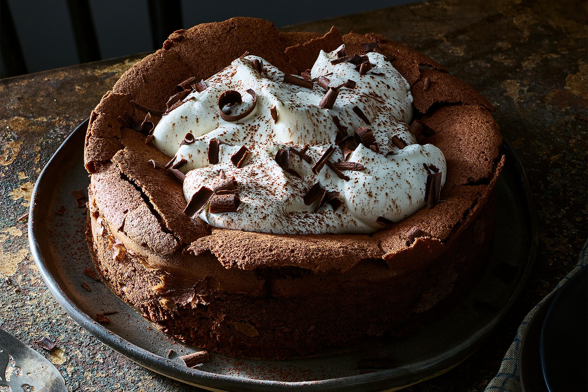 This Genius Flourless Chocolate Cloud Cake Will Look (& Taste) Amazing No Matter What