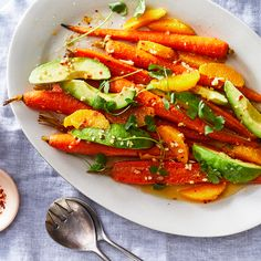 Carrot, Avocado, and Orange Salad