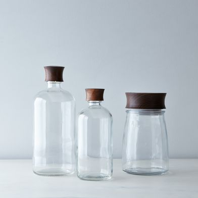 Boston Bottle Hand-Turned Jar and Lid