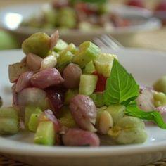 Pink & green Salad