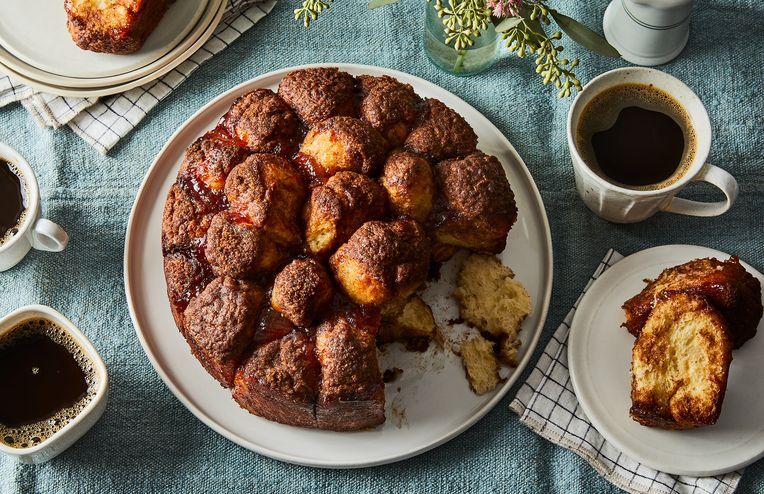 Great-Grandma's Cinnamon Pull-Apart Cake, Pieced Together by Taste Memory