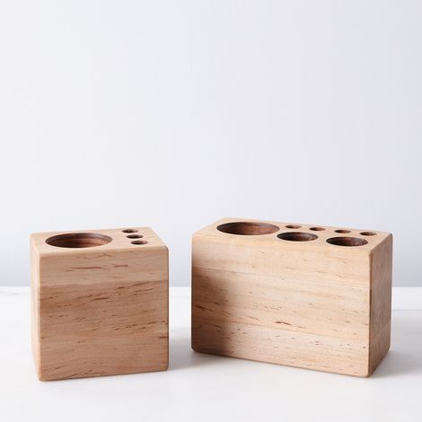 Maple Desk Caddy