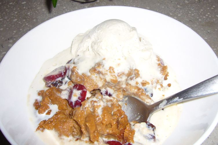 Indian Pudding with Bourbon Spiked Cream