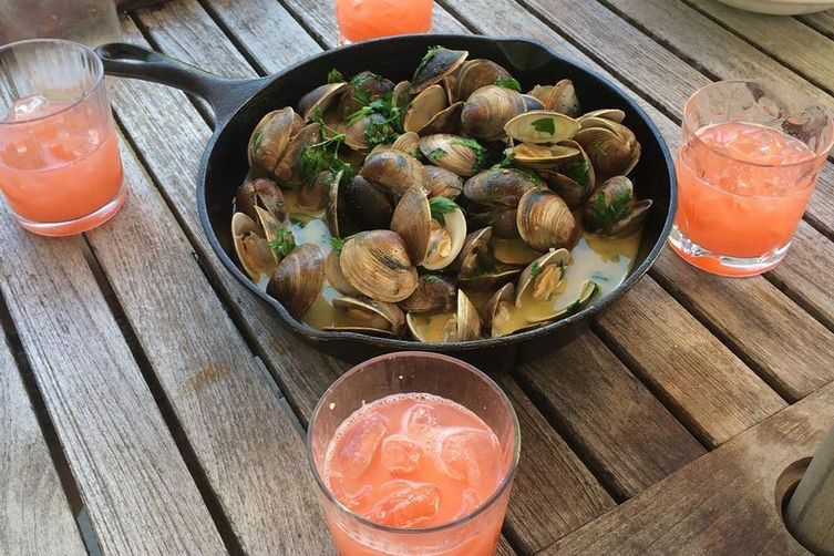 Wood Oven Roasted Clams