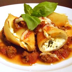 Ricotta Stuffed Shells