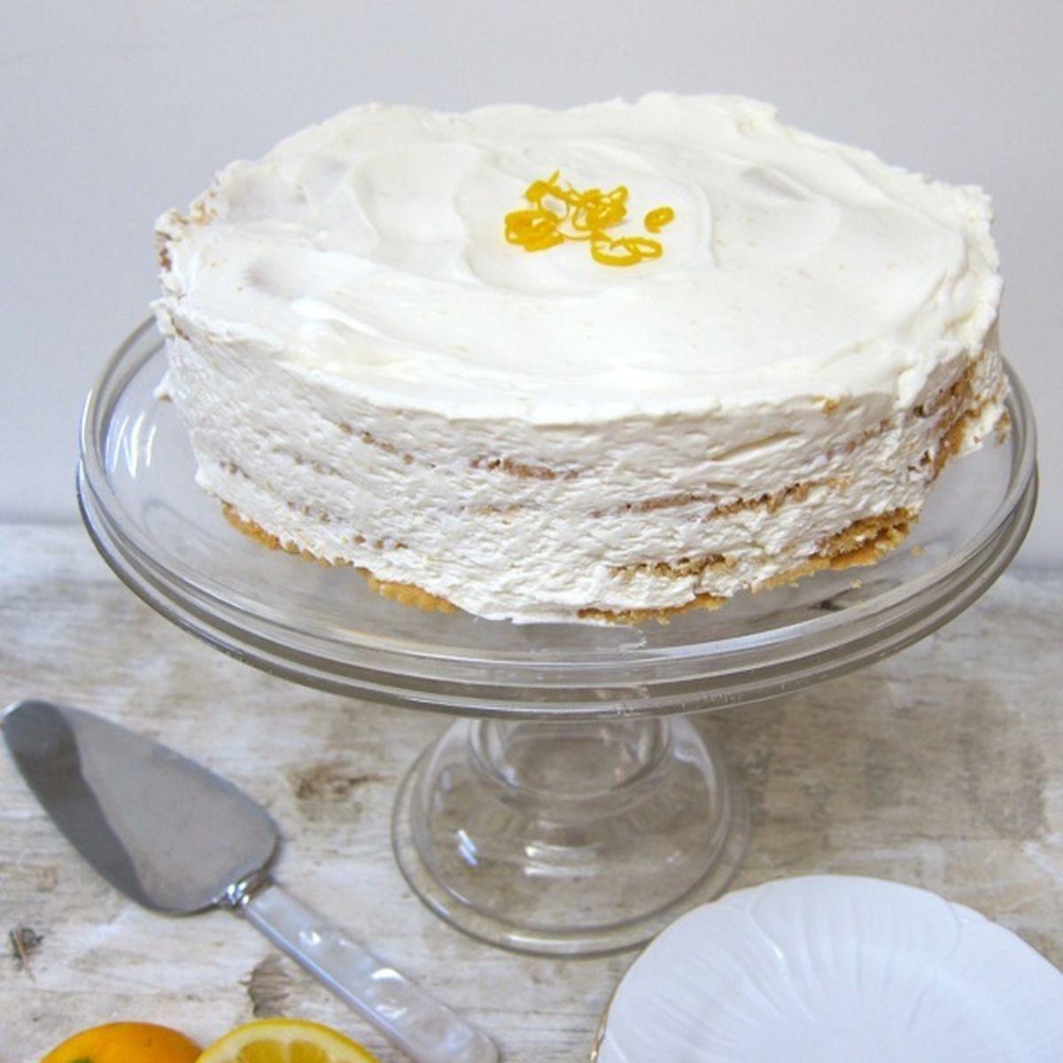 Meyer Lemon Icebox Cake Recipe on Food52