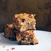 A question about a recipe: Toasted Cashew and Marzipan Blondies
