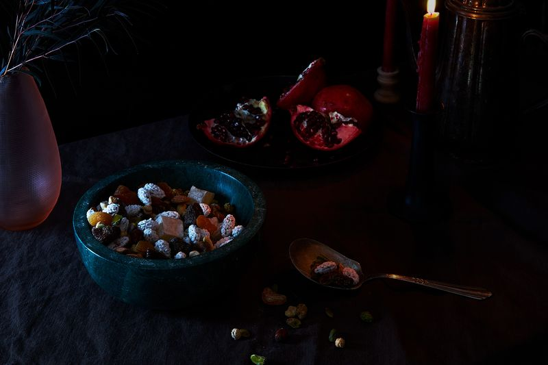"""Problem Solving Nuts"" for Shab-e-Yalda, the Longest, Darkest Night"