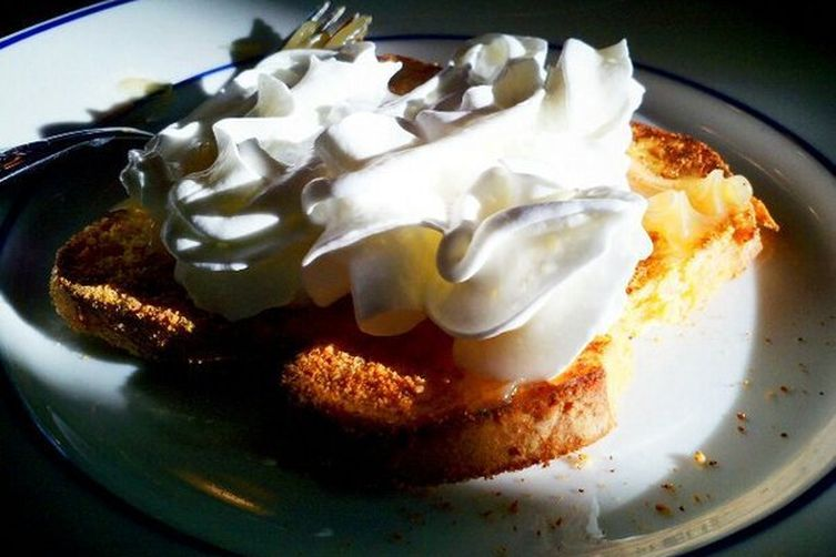 Lemon Meringue French Toast