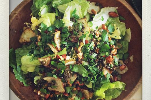 Our Favorite Escarole and Sunchoke Salad
