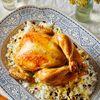 Persian Saffron Roast Chicken & Barberry Rice
