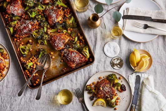 Crispy, Speedy Chicken Dinner, All in a Sheet Pan's Work