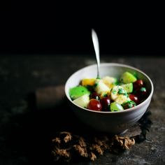 Chaat Masala Fruit Salad