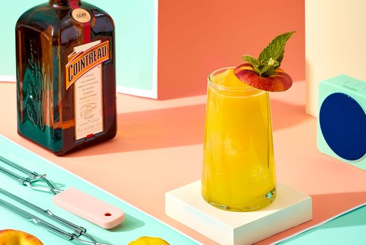The Grilled Peach Margarita From Cointreau