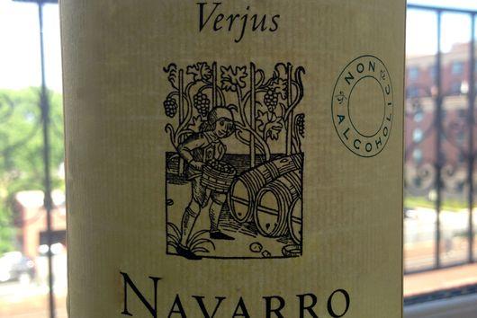 Spiced Verjus Granita