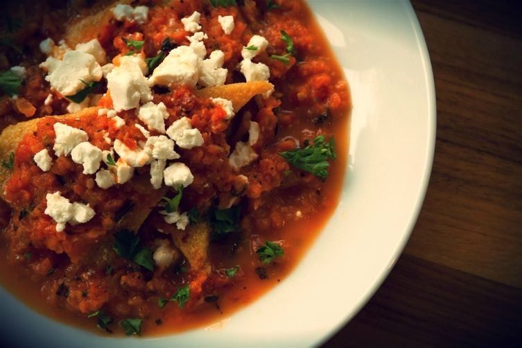 Roasted Tomato Basil Polenta
