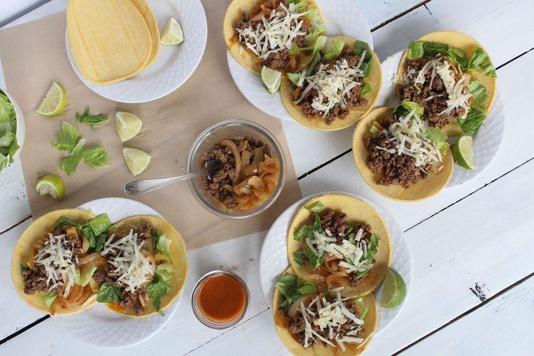 Fresh City Carne De Res Tacos