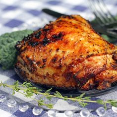 Honey Barbecued Chicken
