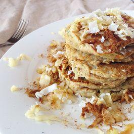 Paleo Apple Harvest Pancakes