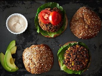 How Veggie Burgers Can Carry You Through Morning, Noon, and Night