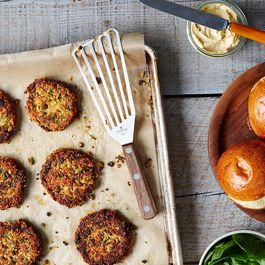 Veggie Burgers by Laura Wilder